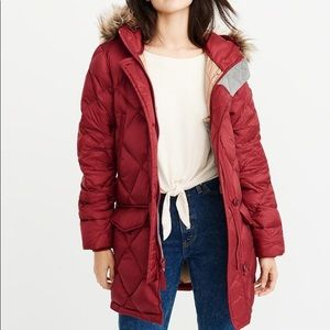 Coats Down Filled Parka Abercrombie and Fitch